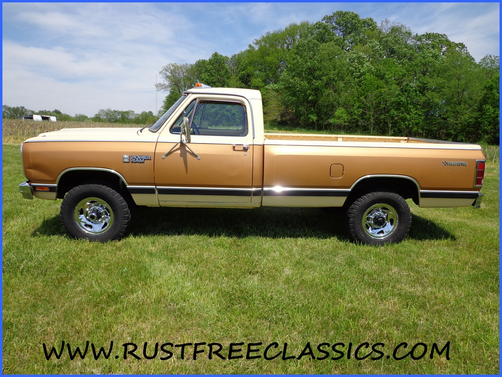 1985 Dodge W350 1 ton 4x4 85 Power Ram Royal SE Prospector